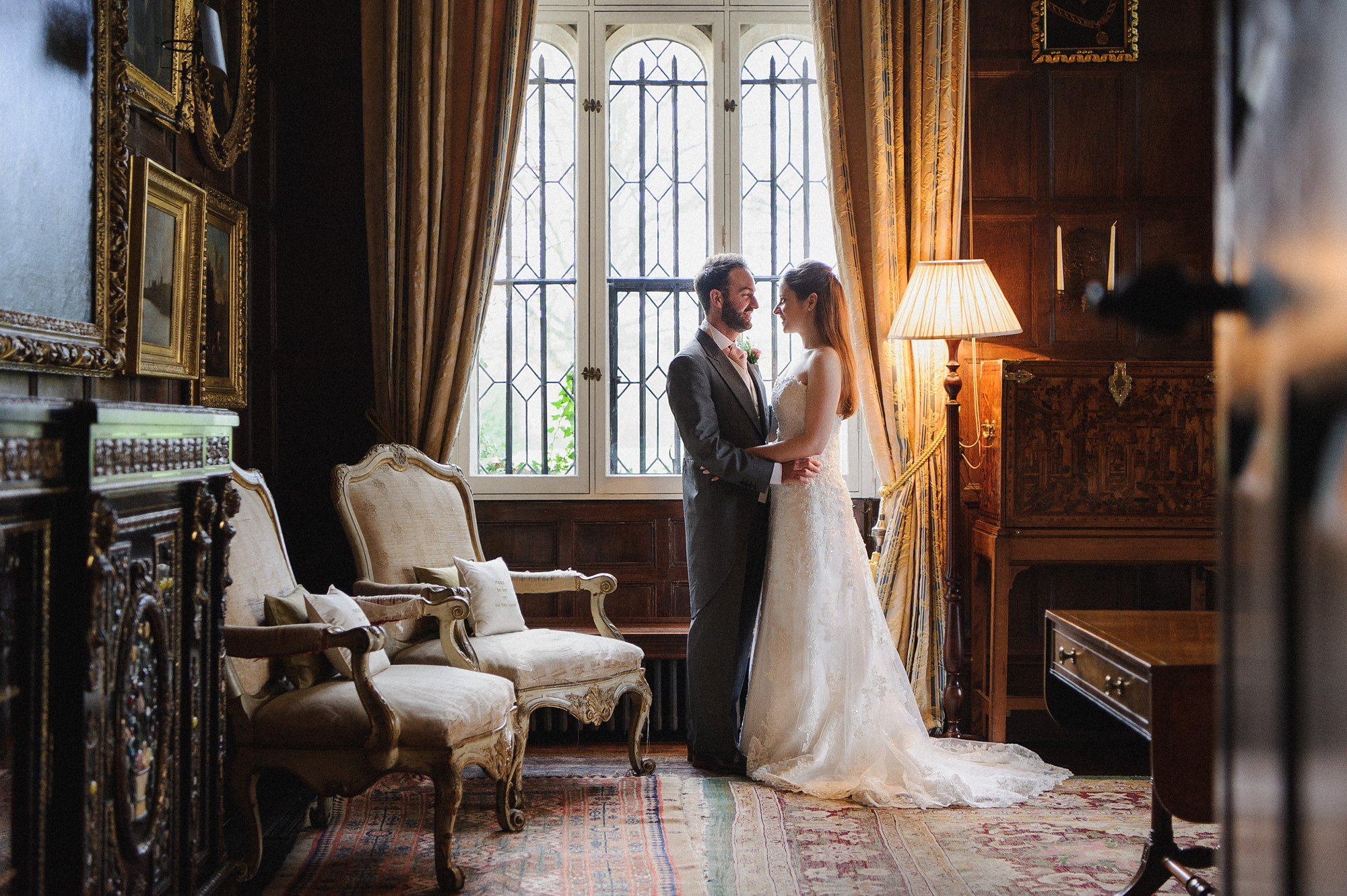 Winter Wedding Photography at Loseley Park Surrey