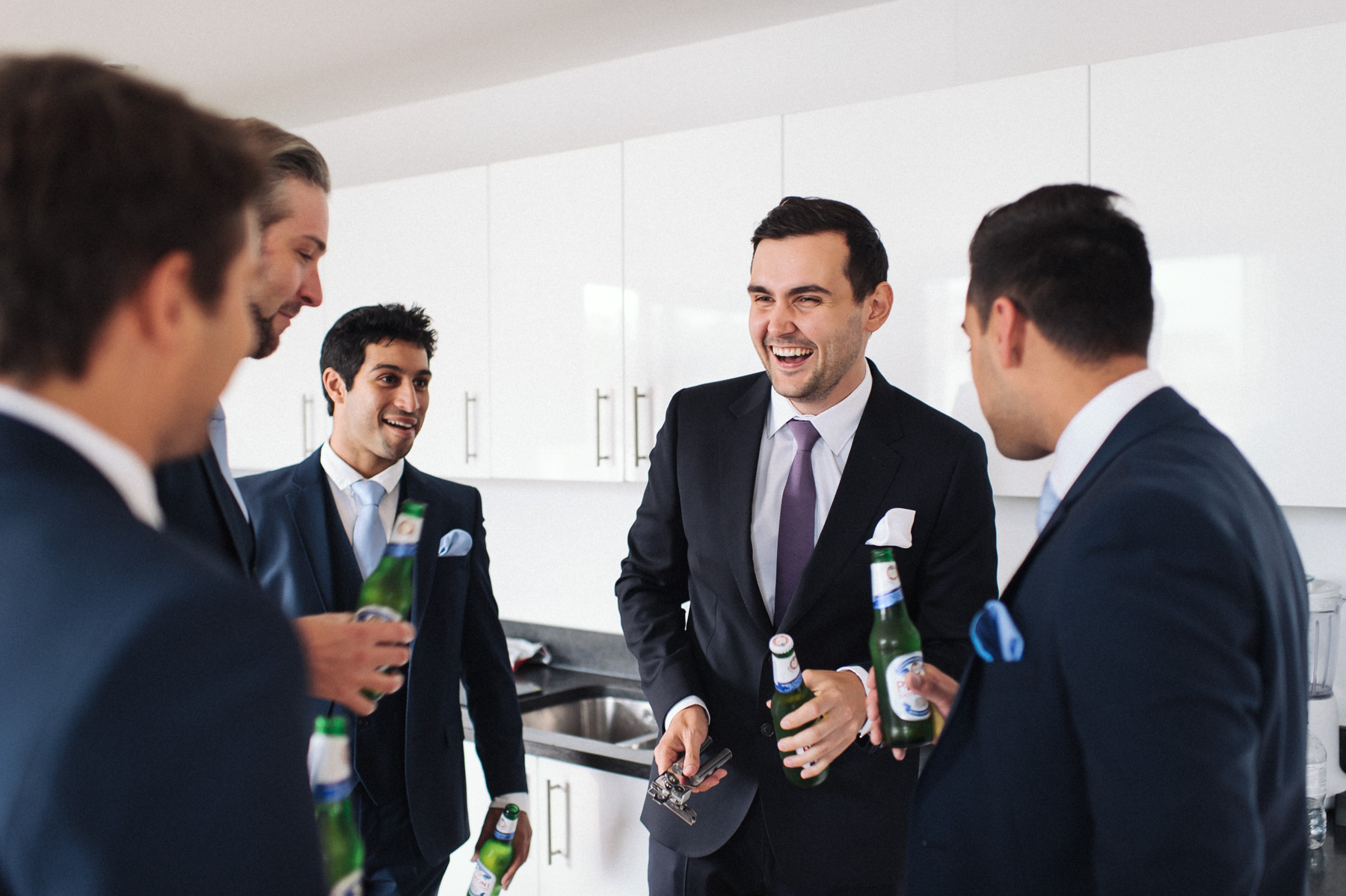 a beer with mates before heading to the Gherkin for the wedding ceremony