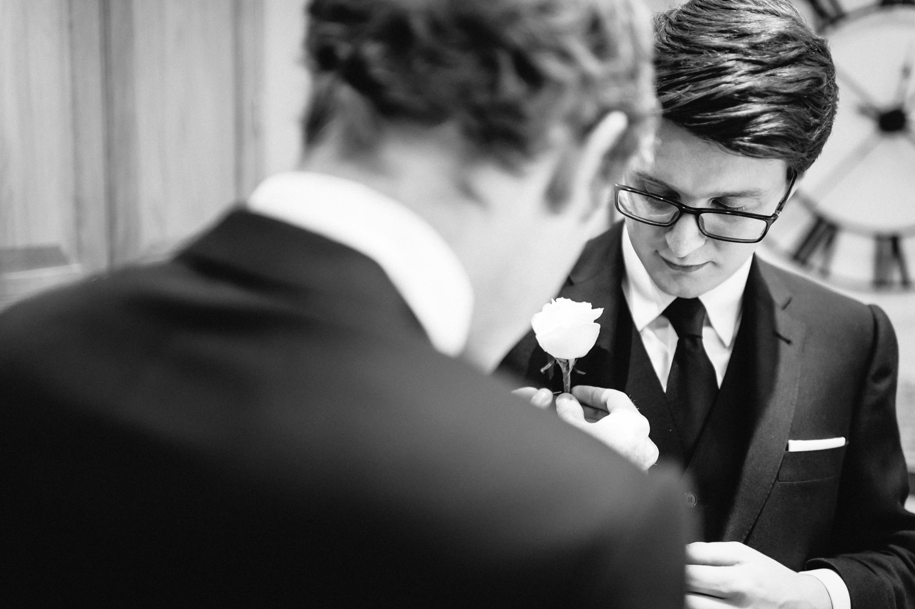 final preparations for the best man